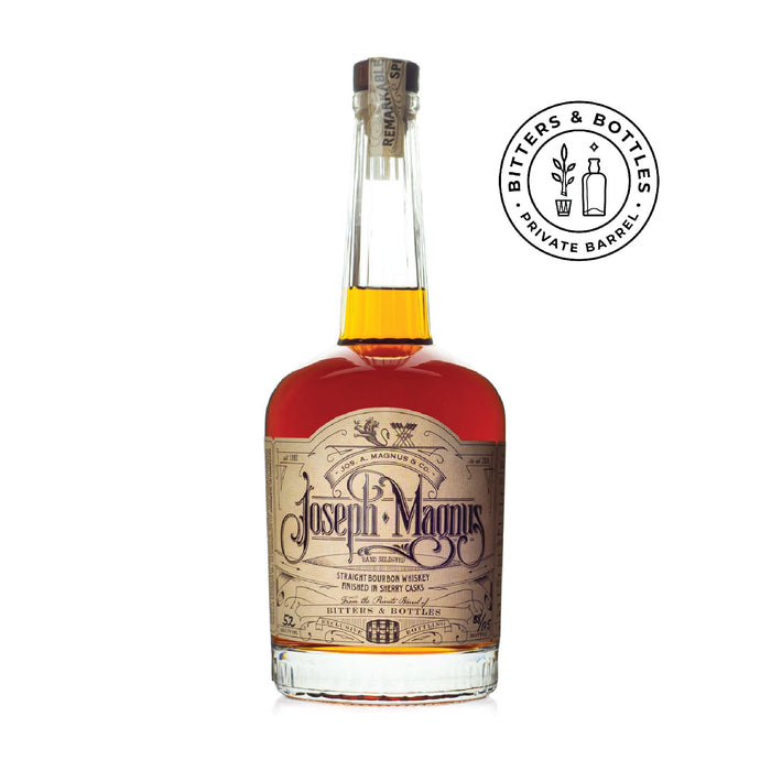 New 13 Year Bourbon, With A Special Finish: Joseph Magnus 13.5 Year
