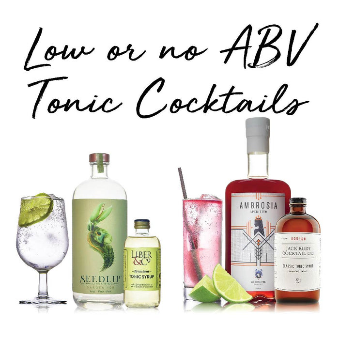 Low or No ABV Cocktails
