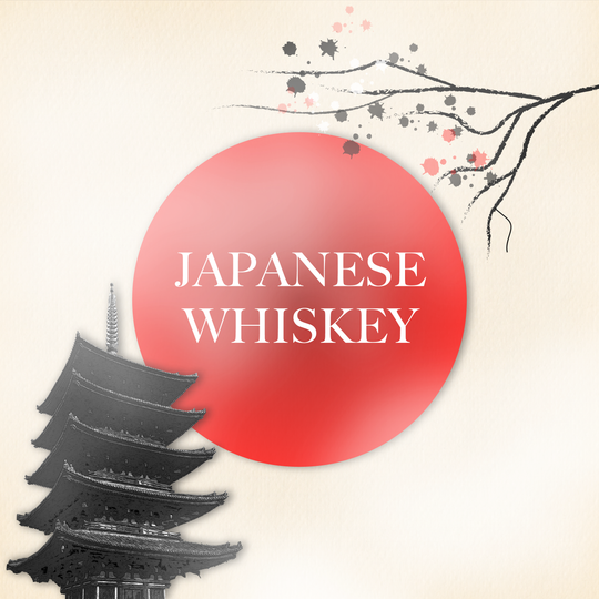 focus on japanese whiskeys