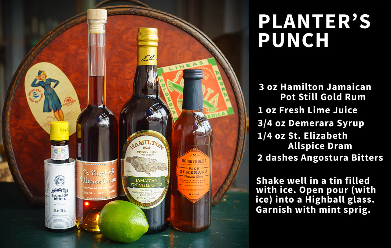 Caribbean Planters Punch on