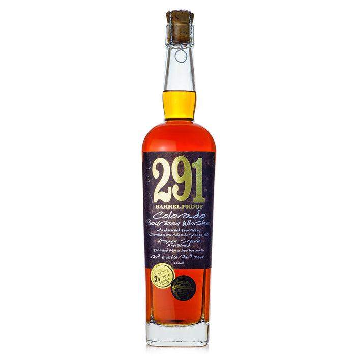 291 Single Barrel Barrel Proof Colorado Bourbon