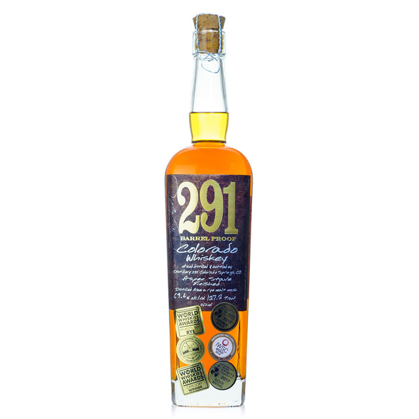 291 Single Barrel Barrel Proof Colorado Whiskey