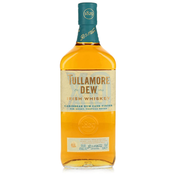 Tullamore Dew Caribbean Rum Cask Finish Irish Whiskey