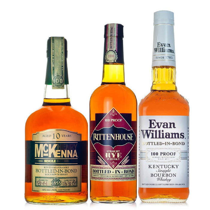 Heaven Hill Bottled in Bond Flight