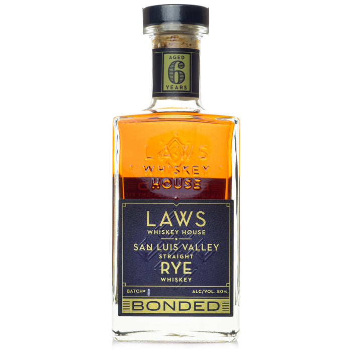 A.D. Laws San Luis Valley Bottled in Bond Rye Whiskey