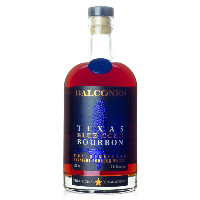 Balcones Blue Corn Cask Strength Bourbon