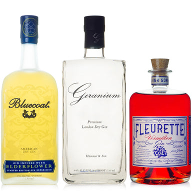 Bouquet of Flowers Gin Set