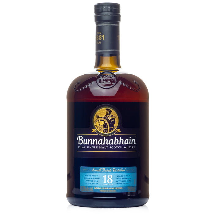 Bunnahabhain 18 Year Single Malt Scotch
