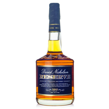 David Nicholson Reserve Straight 100 Proof Bourbon