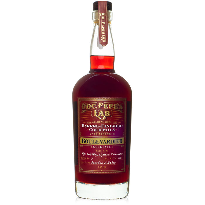 Doc Pepe Cask Strength Boulevardier Cocktail