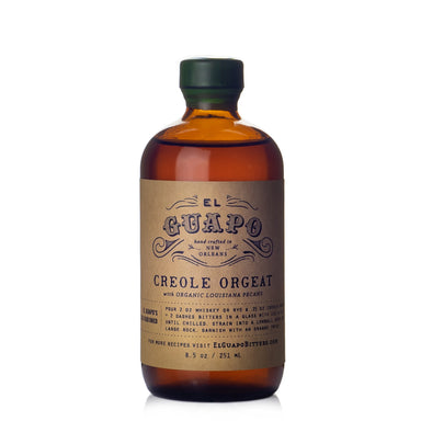 El Guapo Creole Spiced Pecan Orgeat Syrup