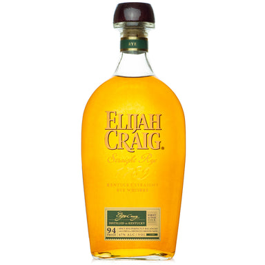 Elijah Craig Straight Rye Whiskey