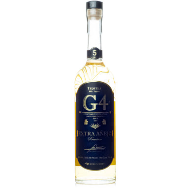 G4 5 Year Extra Anejo Tequila