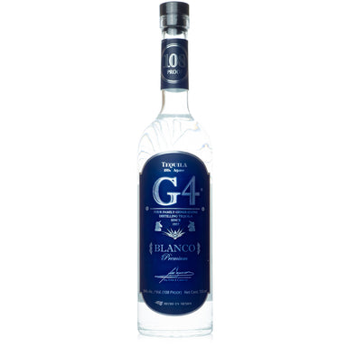 G4 Blanco 108 Proof Tequila