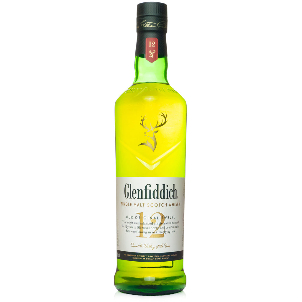 Glenfiddich 12 Year Single Malt Scotch