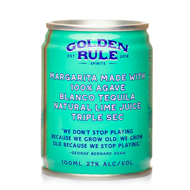 Golden Rule Margarita Cocktail