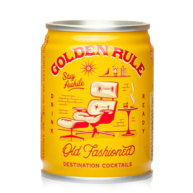 Golden Rule Old Fashioned Cocktail