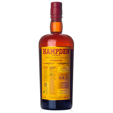 Hampden Estate Overproof Single Jamaican Rum