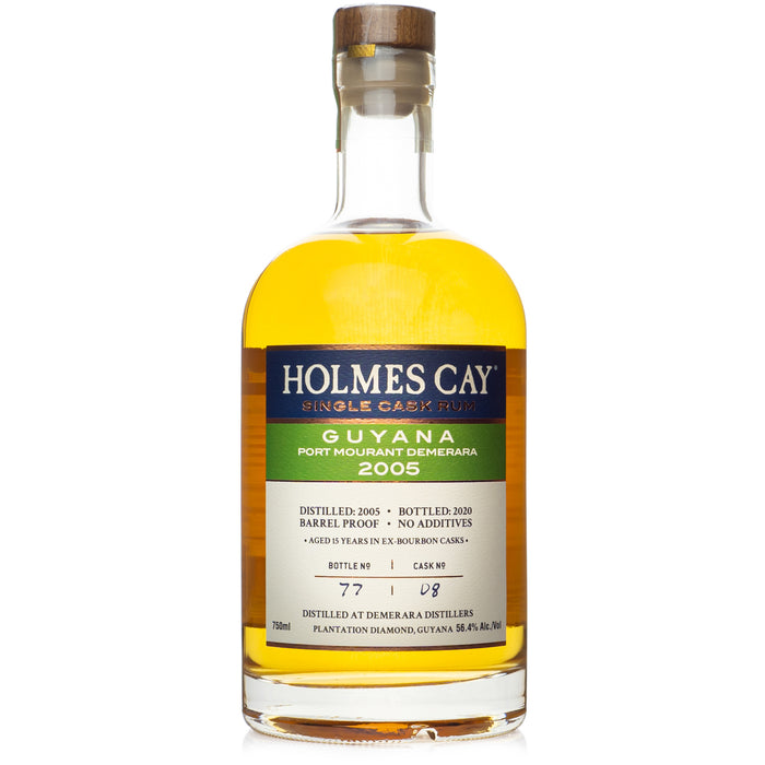 Holmes Cay Guyana 2005 Port Mourant 15 Year Rum