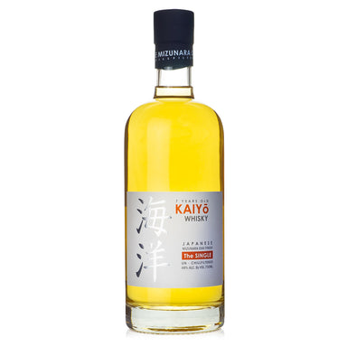 "Kaiyo ""The Single"" 7 Year Mizunara Oak Whisky"