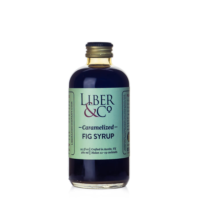 Liber & Co Caramelized Fig Syrup
