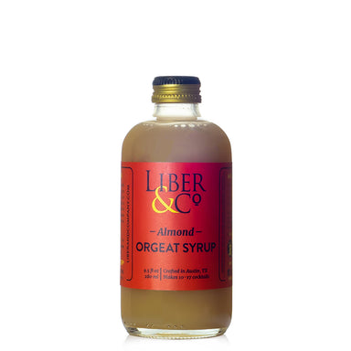 Liber & Co Almond Orgeat Syrup