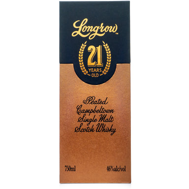 Longrow 21 Year Limited Release Single Malt Scotch
