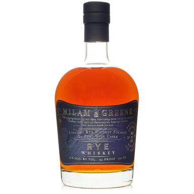 Milam & Greene Port Cask Finish Rye Whiskey