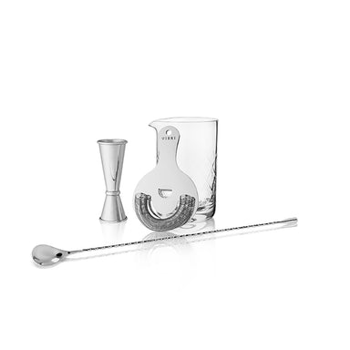 Mixologist Barware Set Stainless Steel