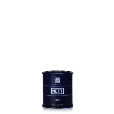 Neft Black Barrel Vodka