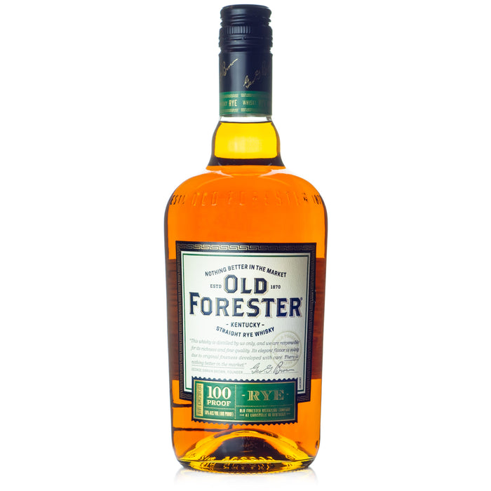 Old Forester Straight Rye Whiskey