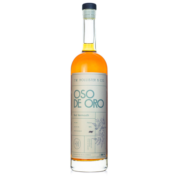 Oso de Oro Red Vermouth