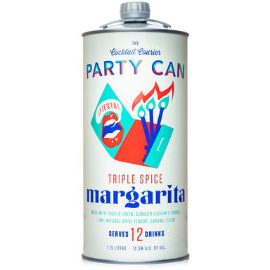 Party Can Triple Spice Margarita