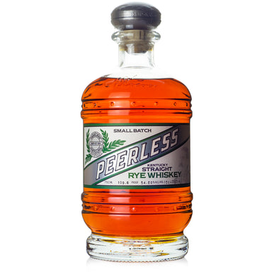 Peerless Small Batch Barrel Proof Rye Whiskey