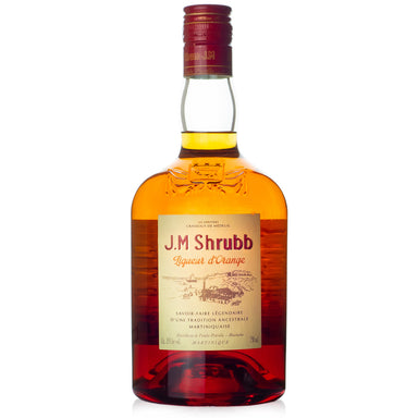 Rhum JM Shrubb d'Orange Liqueur