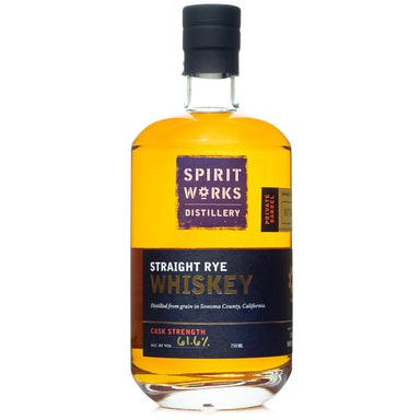 Spirit Works B&B Private Barrel Cask Strength Rye Whiskey
