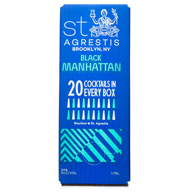 St Agrestis Black Manhattan Bag-In-Box