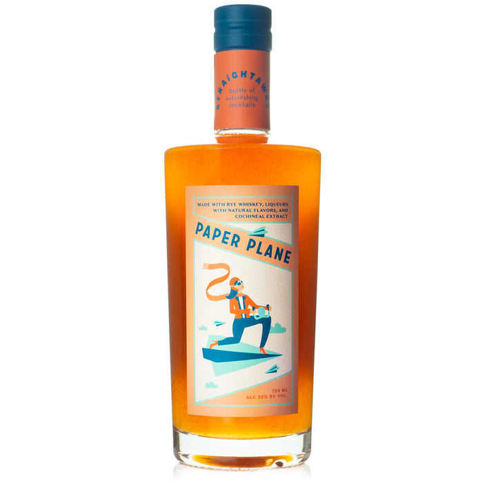 "Straightaway ""Paper Plane"" Bottled Cocktail"