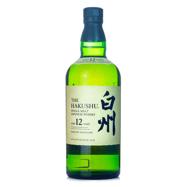 Suntory Hakushu 12 Year Single Malt Japanese Whisky
