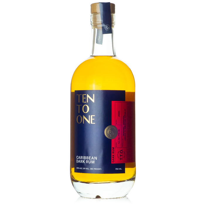 Ten To One Caribbean Dark Rum