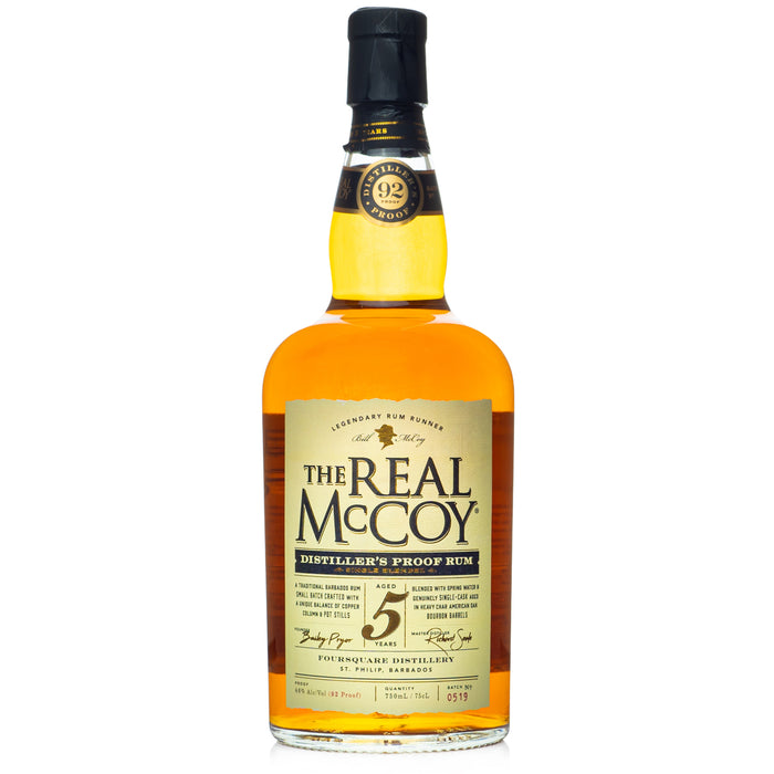The Real McCoy Distiller's Proof 5 Year Rum