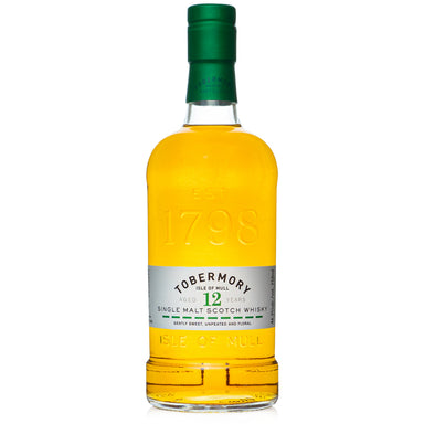 Tobermory 12 Year Single Malt Scotch
