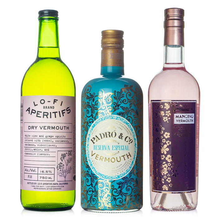Vermouth for Sipping Flight