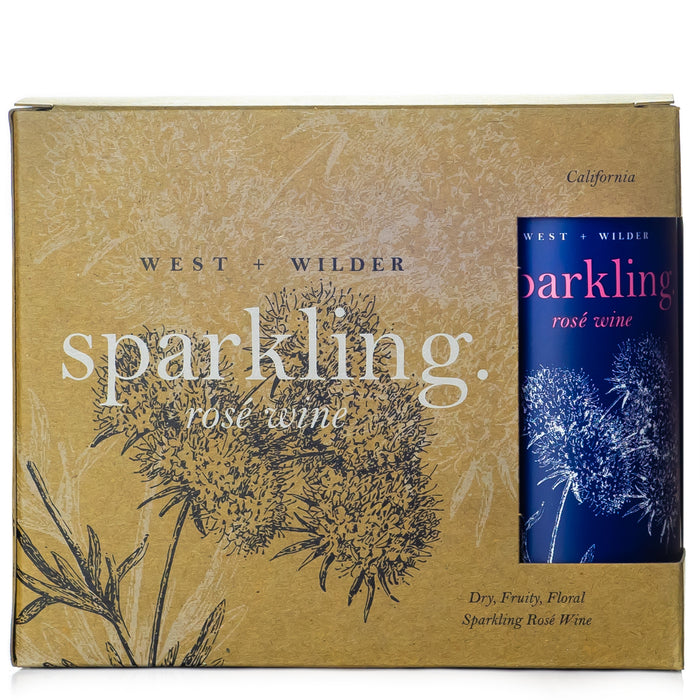 West + Wilder Sparkling Rosé Wine