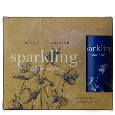 West + Wilder Sparkling White Wine
