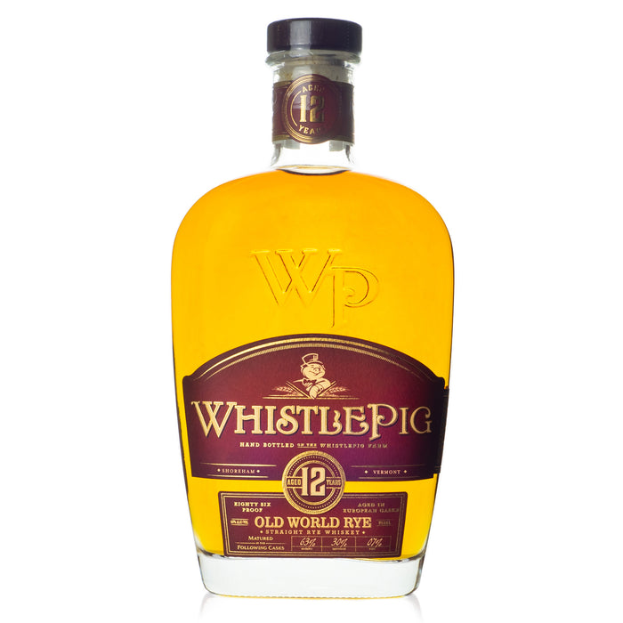 WhistlePig 12 Year Old World Marriage Rye Whiskey