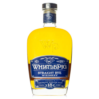 WhistlePig 15 Year Vermont Estate Oak Rye Whiskey
