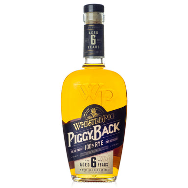 WhistlePig Piggy Back 6 Year Rye