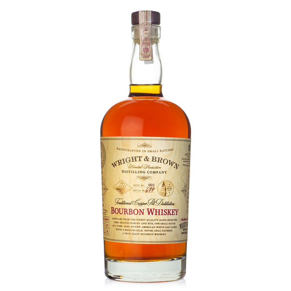 Wright & Brown Bourbon Whiskey