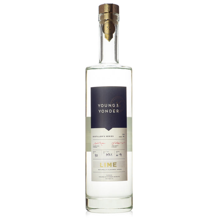 Y/Y Distiller's Series Lime Vodka